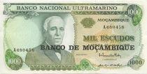 Mozambico 1000 Escudos Gago Countinho