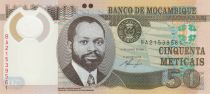 Mozambico 50 Meticais 2011 - S. M. Machel - Impalas