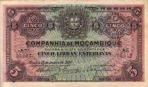 Mozambico R.32 5 Libras
