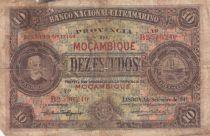 Mozambique 10 Escudos - F. de Oliveira Chamico - 1941 - P.82 - B+
