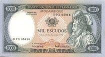 Mozambique 1000 Escudo Alfonso V - Bateaux