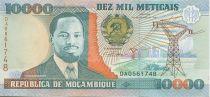 Mozambique 10000 Meticais J. Chissano - Labour