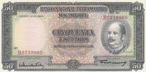 Mozambique 50 Escudos Eduardo Costa - 1958