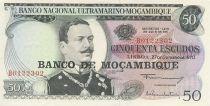 Mozambique 50 Escudos Joao de Azevedo Coutinho