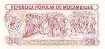 Mozambique 50 Meticais Défilé militaire