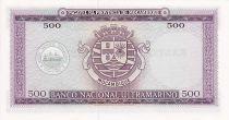 Mozambique 500 Escudos Xavier Caldas
