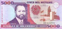 Mozambique 5000 Meticais S. Machel - Fonderie