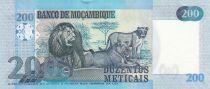 Mozambique 5000 Meticais S. Machel - Lions 2011