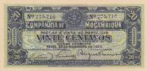 Mozambique R.29 20 Centavos, Armoiries - Ornements - 1933