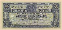 Mozambique R.29 20 Centavos, Arms - 1933