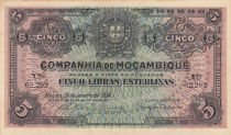 Mozambique R.32 5 Libras, Armoiries - 1934