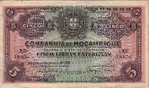 Mozambique R.32 5 Libras, Armoiries