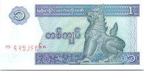 Myanmar 1 Kyat Shinzé - 1996