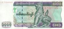 Myanmar 1000 Kyats Shinzé - Banque