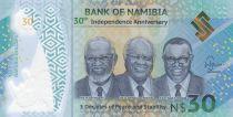 Namibie 10 Dollars Hamilton - Batiment du Trésor 2017 B2 New York - Neuf