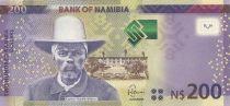 Namibie 200 Namibia Dollars Dollars, H.E. Dr Sam Nujoma - 2012