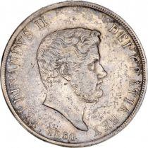 Naples 120 Grana Ferdinand II - Armoiries - 1850