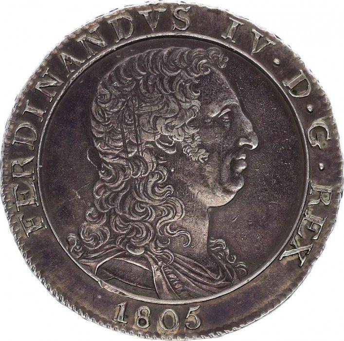 Naples 120 Grana Ferdinando IV - Arms 1805