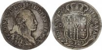 Naples C.66.a 120 Grana, Ferdinand IV - Armoiries 1788