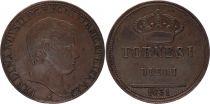 Naples et Sicile 10 Tornesi Ferdinand II - 1831