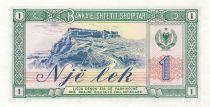 Népal 1 Lek 1976 - Fermiers, paysage