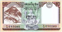 Nepal 10 Rupees , Everest Mountain - Markhor -2020 - Neuf