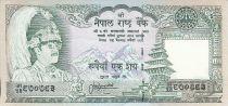 Nepal 100 Rupees - King B.B. Bikram - Rhinoceros - (1983-1987)