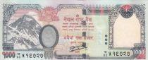 Népal 1000 Rupees Mont Everest - Eléphant - 2013 (2016)