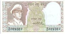 Népal 5 Rupees,  Roi Mahendra Vira Vikama - 1972