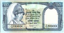 Népal 50 Rupees, Roi Gyanendra Bir Bikram - Chèvre - 2002 - P.48 b