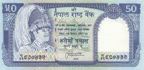 Népal 50 Rupees 1983 Roi Birendra Bir Bikram - 1983