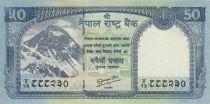 Nepal 50 Rupees 2012 - Everest Mount, Himalyan tahr