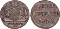 Netherlands 1 Duit Arms - 1768