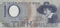 Netherlands 10 Gulden - 1943 - VF + - P.59