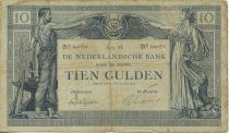 Netherlands 10 Gulden Labor and Commerce