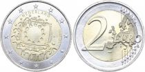 Netherlands 2 Euros 30 years of European Flag - 2015