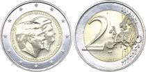 Netherlands 2 Euros Willem-Alexander and Beatrix - 2014