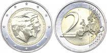 Netherlands 2 Euros Willem-Alexander and Beatrix - 2014