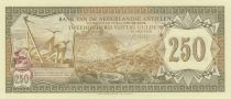 Netherlands Antilles 250 Gulden 1967 - Saba\'s Mountains