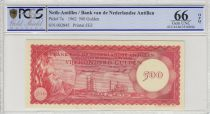 Netherlands Antilles 500 Gulden 1962 -  Oil refinery of Curacao - 1962 - PCGS 66 OPQ