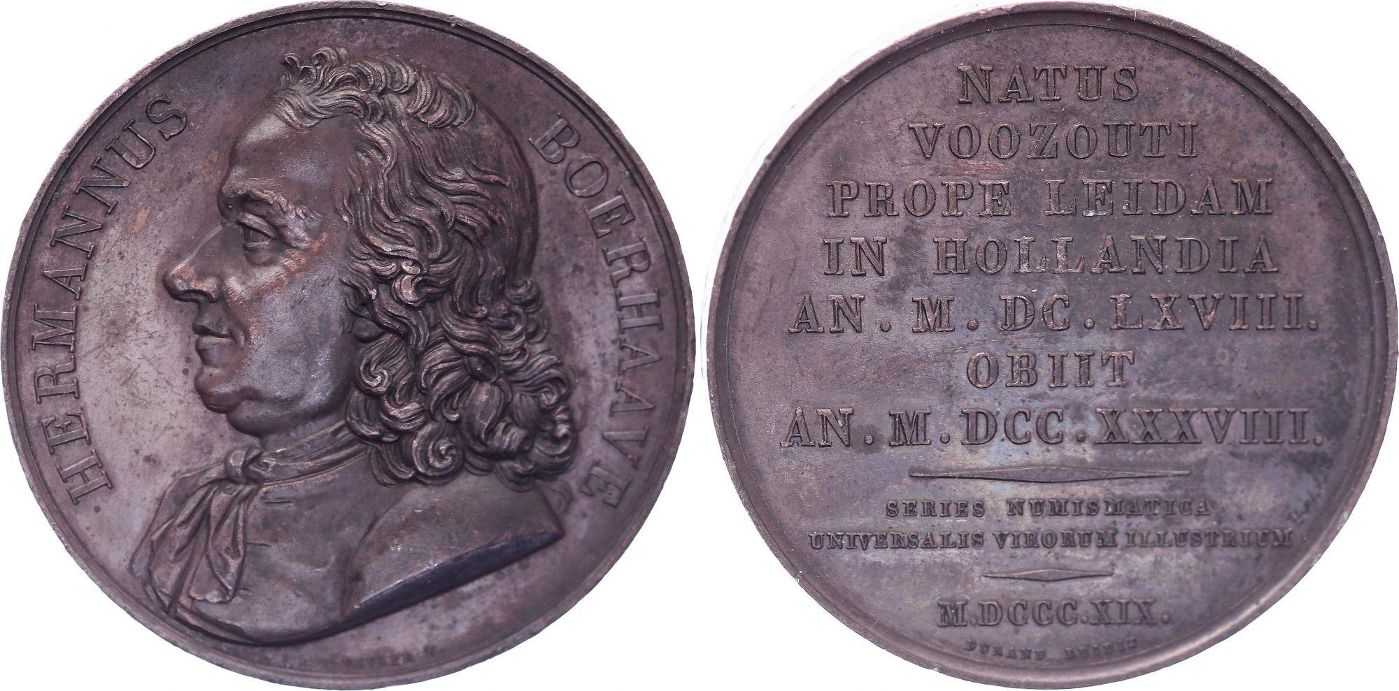 Netherlands Herman Boerhaave (1668-1738) - 1819 by Pierre Amédée Durand