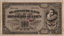 Netherlands Indies 100 Gulden J.P. Cohen - Javasche Bank - 1929