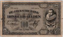 Netherlands Indies 100 Gulden J.P. Cohen - Javasche Bank