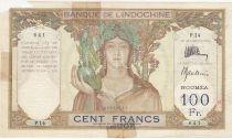 New Caledonia 100 Francs - 1937 - Specimen Signature Thion de la Chaume - Baudouin - Rare ! P.42a