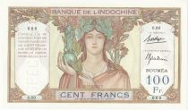 New Caledonia 100 Francs ND (1937) Specimen - P.42