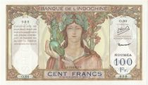 New Caledonia 100 Francs ND (1953) Specimen - P.42