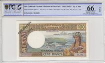 New Caledonia 100 Francs Tahitienne - 1971 - Specimen - PCGS 66OPQ