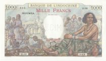 New Caledonia 1000 Francs ND (1938) - P.43 Specimen