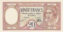New Caledonia 20 Francs ND 1929, Specimen - UNC - P.37