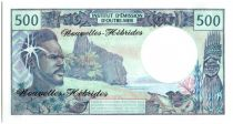 New Hebrides 500 Francs Fisherman - Marquises Islands - 1970 alph A.1